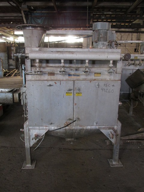 YOUNG BAG DUMP STATION, S/S, MODEL 10X8-C