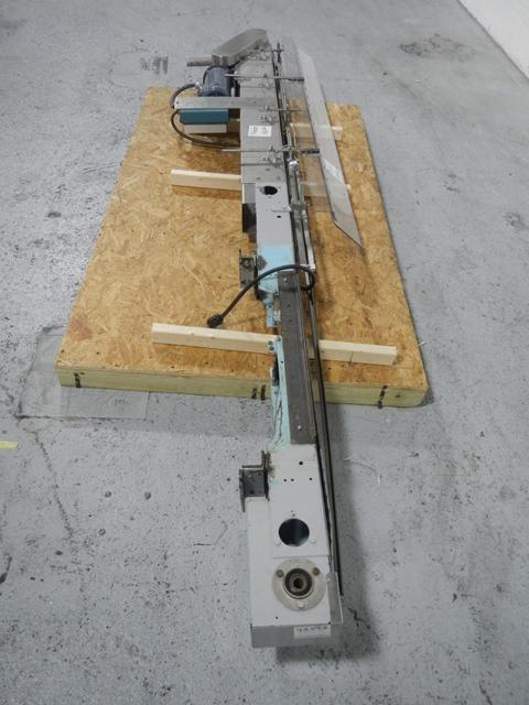 """126""""X 4"""" Garvey Slat Conveyor"""