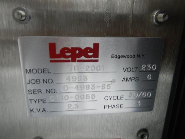 Lepel Induction Sealer, TR Series