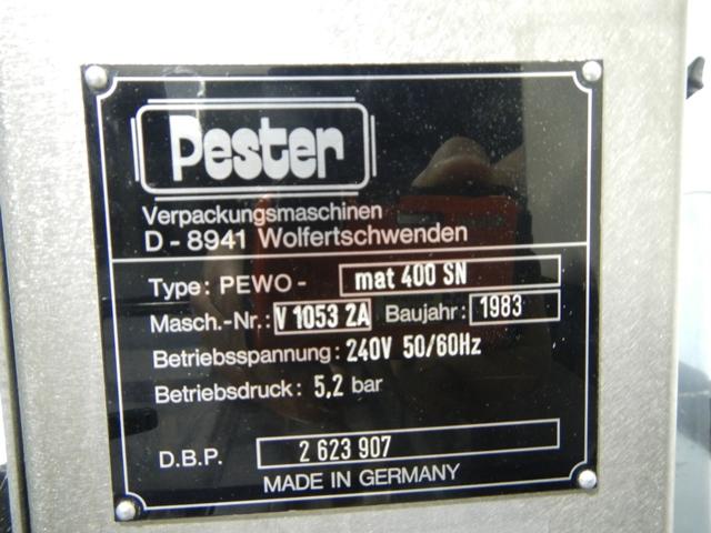 Pester PEWO MAT400SN Shrink Bundler