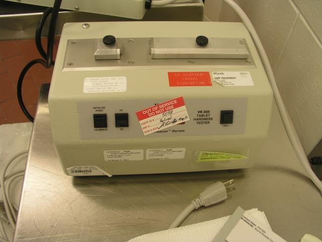 40-2000 Vankel Tablet Hardness Tester