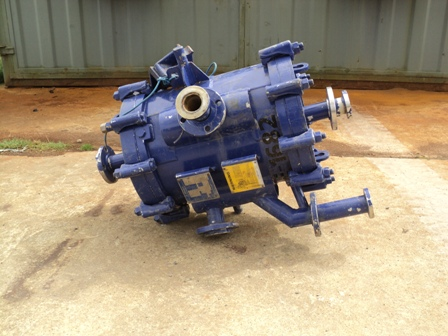 88 Sq Ft Alfa Laval spiral heat exchanger, s/s