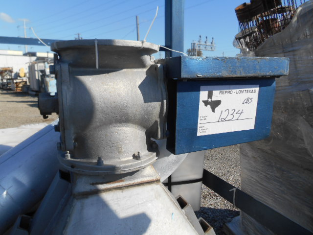 369 SQ FT MIKRO DUST COLLECTOR, S/S, MODEL 49S620