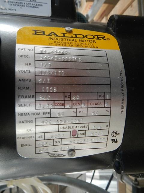 150 LITER B BRAUN SATORIUS FERMENTOR SYSTEM, 316L S/S