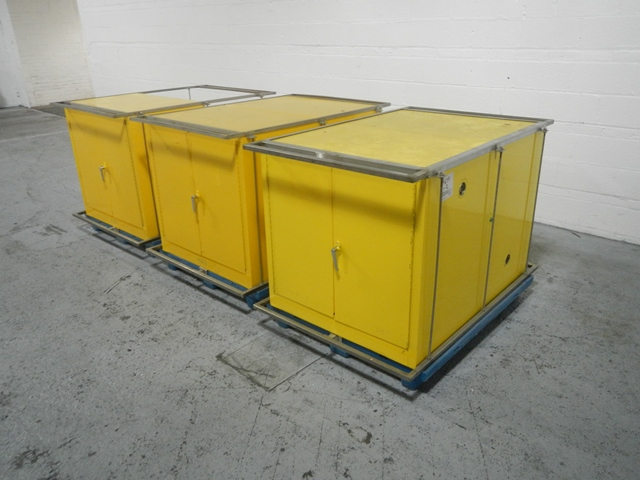 DOUBLE SIDED FIRE PROOF CABINETS
