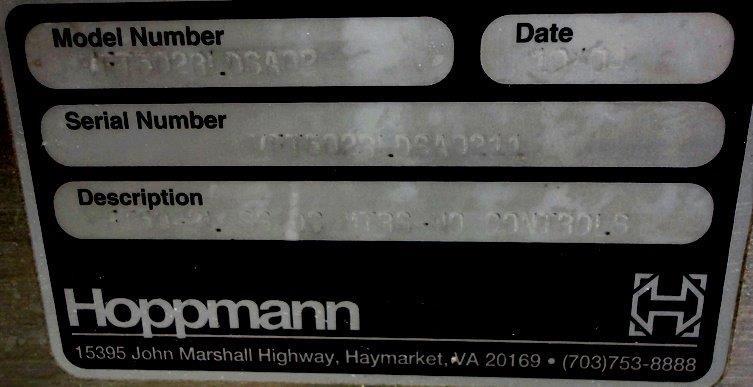 HOPPMAN BOWL FEEDER, MODEL FT-50