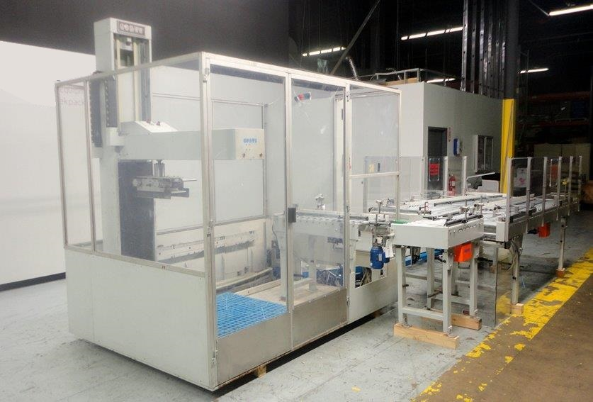 COSTI ROBOTIC CASE PALLETIZER, MODEL FP20