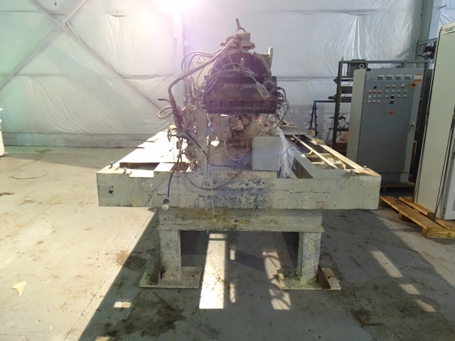 90 MM BERSTOFF TWIN SCREW EXTRUDER, 28:1 L/D, 500 HP