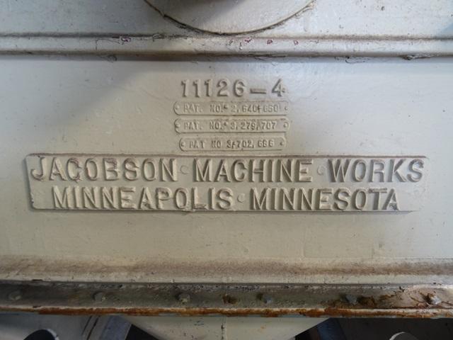 JACOBSON FULL CIRCLE MILL, MODEL P-240D-FF, C/S, 60 HP