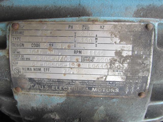 12000 GAL TANK, 304 S/S, AGITATED