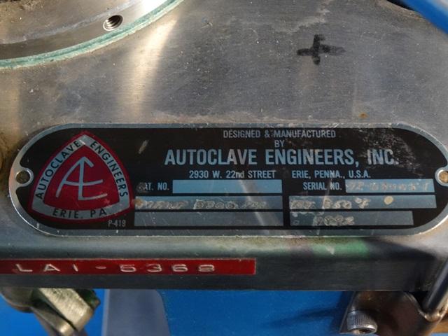 1 LITER AUTOCLAVE ENGINEERS REACTOR, 316 S/S, 3300#