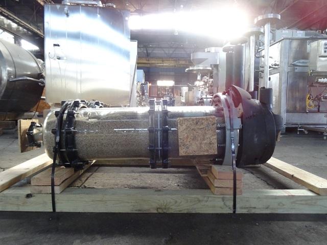 25 SQ FT SCHOTT HASTELLOY C GLASS COIL CONDENSOR, 140/14#