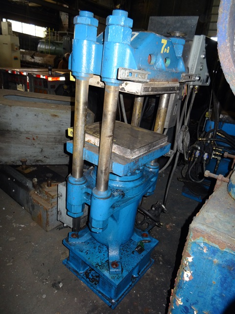 "62.8 Ton FH Maloney 4 Post Molding Press, 16"" X 16"