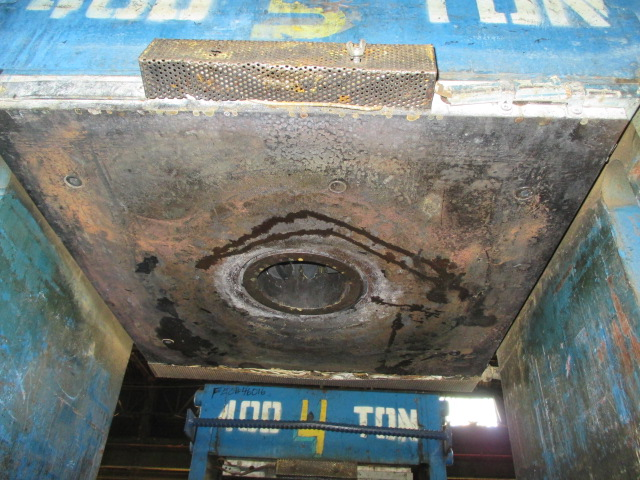 "392.5 Ton French Oil Slabside Transfer Press, 24"" X 24"