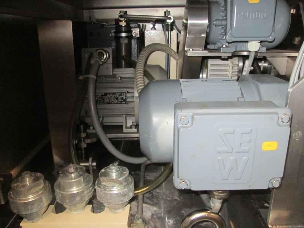 Alexanderwerk Roller Compactor, Model WP120X40V, S/S