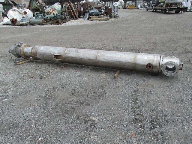289 sq ft Nat Heat Transfer Heat Exchanger, Hastelloy C276