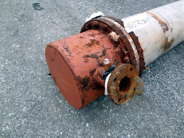 597 SQ FT J.F.D. TUBE & COIL HEAT EXCHANGER, 316L SS, 125/75