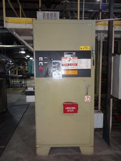 BROWN C3030 THERMOFORMER WITH 130T TRIM PRESS