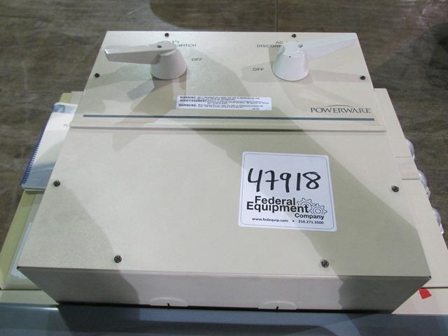 FERRUPS POWERWAVE UPS SYSTEM, MODEL FE12.5KVA