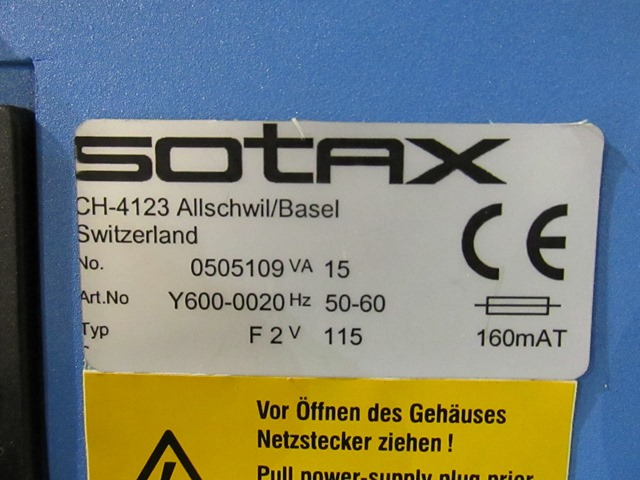 F2 SOTAX FRIABILITY TESTER