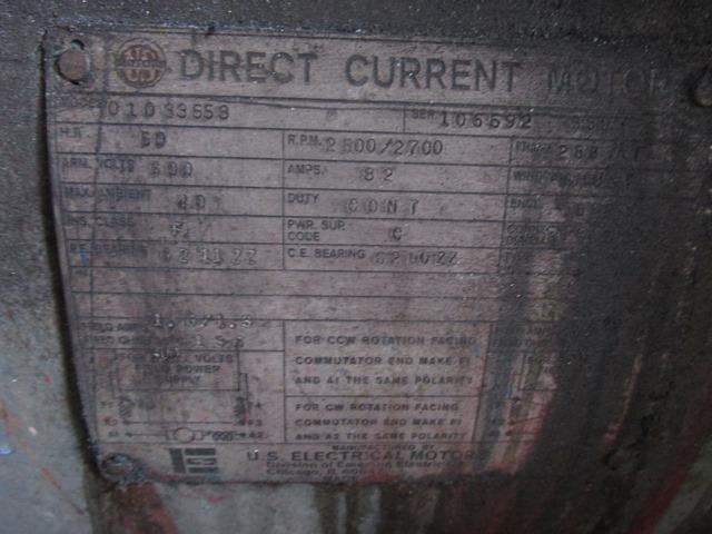40 MM BERSTORFF PELLETIZING LINE, 30:1 L/D, 50 HP