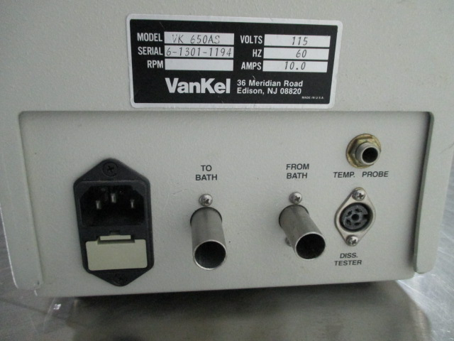 VANKEL WATER BATH HEATER/CIRCULATOR, MODEL VK650AS