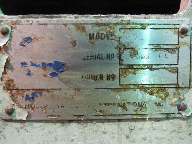 DONALDSON CLASSIFER, MODEL C24, ALUMINUM