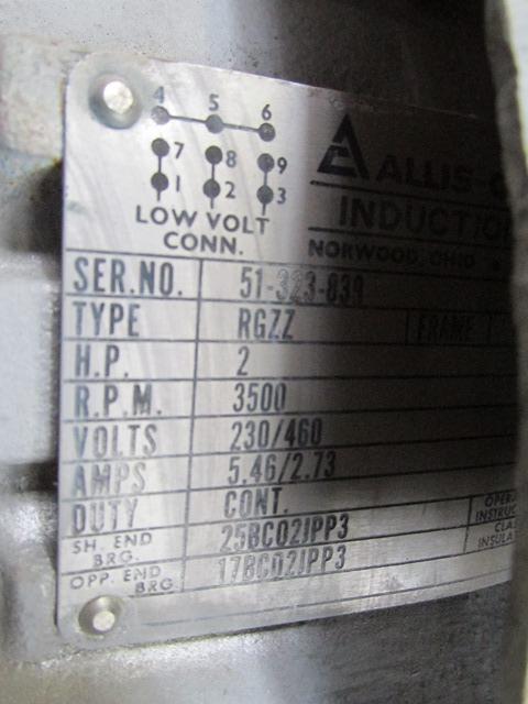 2 HP Shar Disperser, s/s