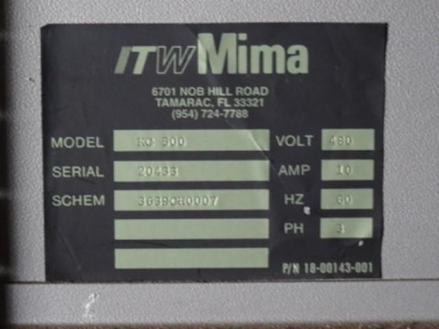 ITW MIMA KING COBRA STRADDLE STRETCH WRAPPER, MODEL KC500