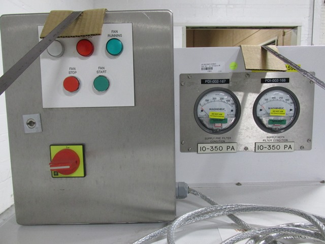 APPLIED CONTAINMENT ENGINEERING PORTABLE HEPA AIR HANDLER