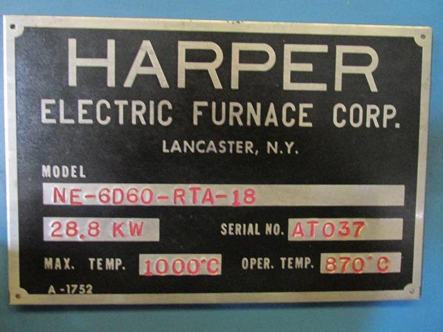 "6"" X 60"" HARPER CALCINER, 1000 C"