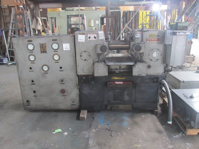 "6"" X 12"" FARREL TWO ROLL MILL"