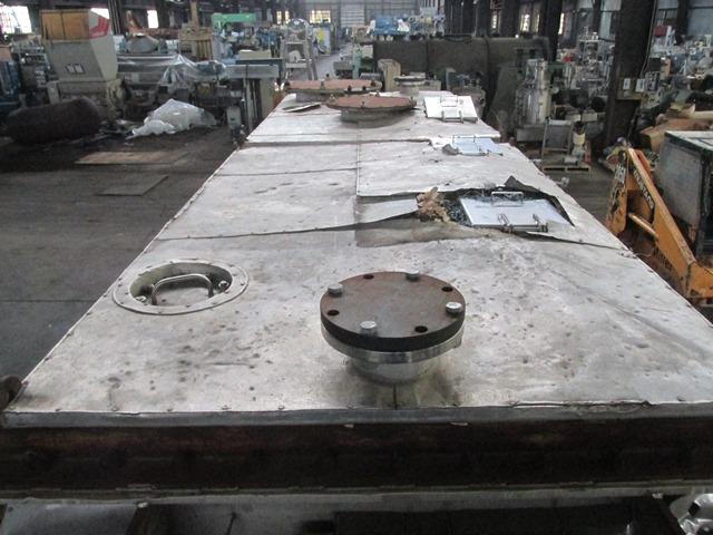 """48"""" X 15'' Hosokawa Bepex Torus Disc Dryer, SS, TDJS 48-15"""