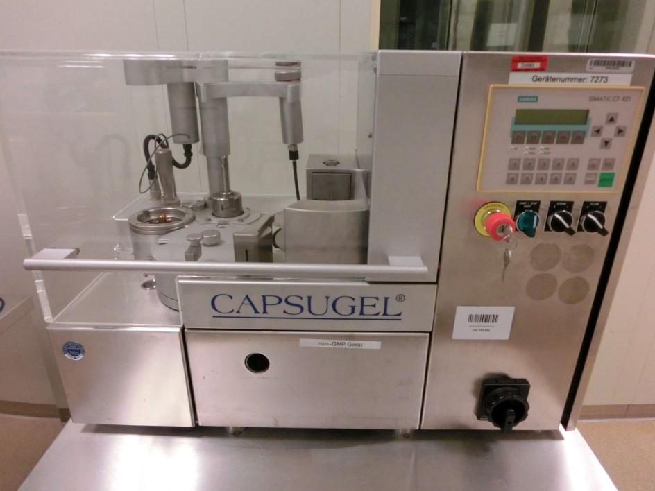 Capsugel CFS 1000 Capsule Filler