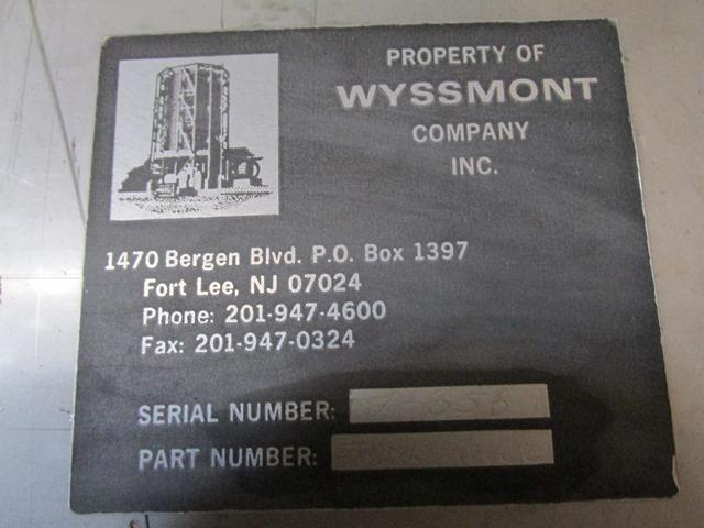 WYSSMONT TURBO-DRYER, S/S