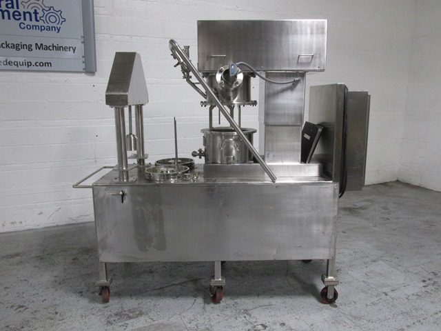 4 GAL ROSS PLANETARY MIXER, S/S, LDM/DS-4 WITH PRESS
