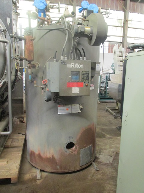60 HP FULTON STEAM BOILER