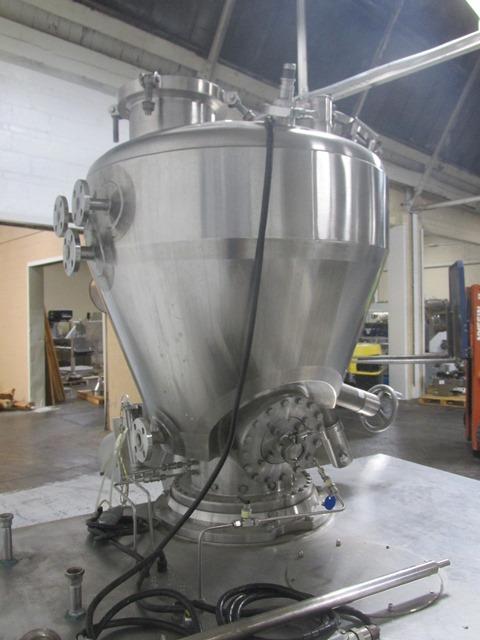 .1 Cu Meter KraussMaffer Conical Vacuum Dryer, 316L S/S