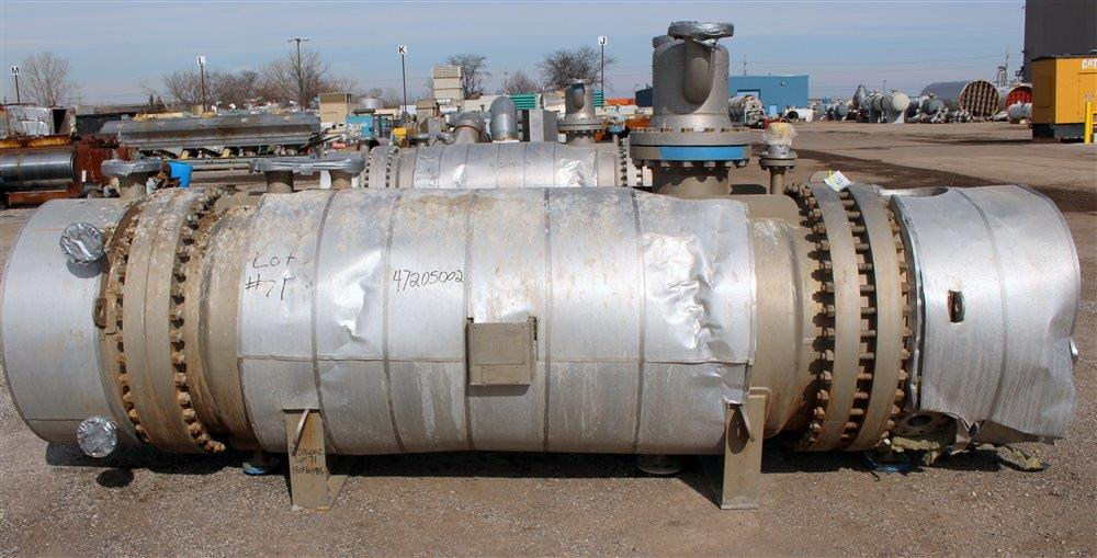 547 SQ FT GERHARD RAUH HEAT EXCHANGER, 316L S/S, 94/94