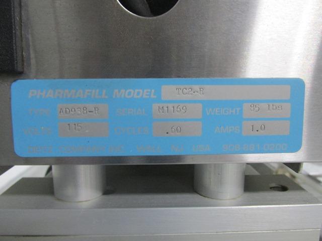 PHARMAFILL DUAL INLINE BOTTLE FILLER, MODEL TCA2-L/TC2-R