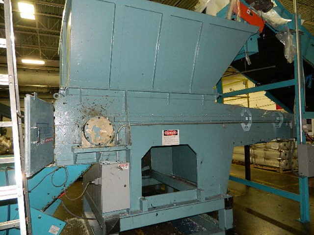 150 HP VECOPLAN SHREDDER, MODEL RG62/150