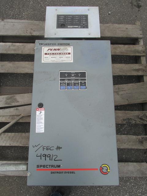 34 KW SPECTRUM DETROIT DIESEL GENERATOR