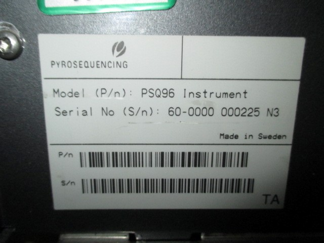 HELIX SCIENTIFIC PYROSEQUENCER PSQ 96