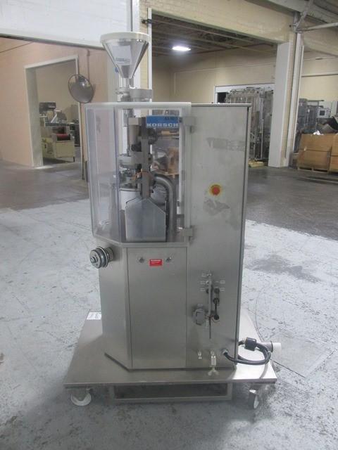 Korsch XL 100 Tablet Press, 10 Station
