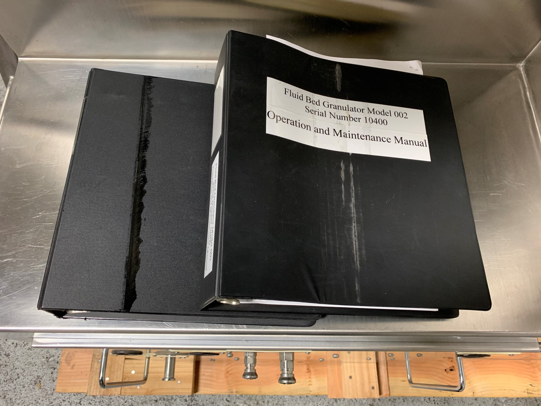 "24"" Thomas Engineering coating pan, Model COMPULAB24, S/S"