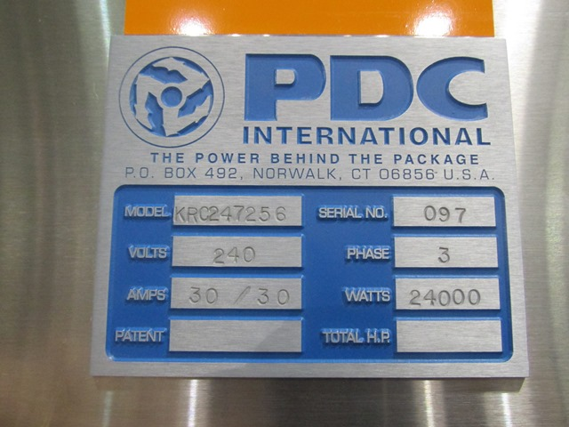 PDC Over Conveyor Bander Oven
