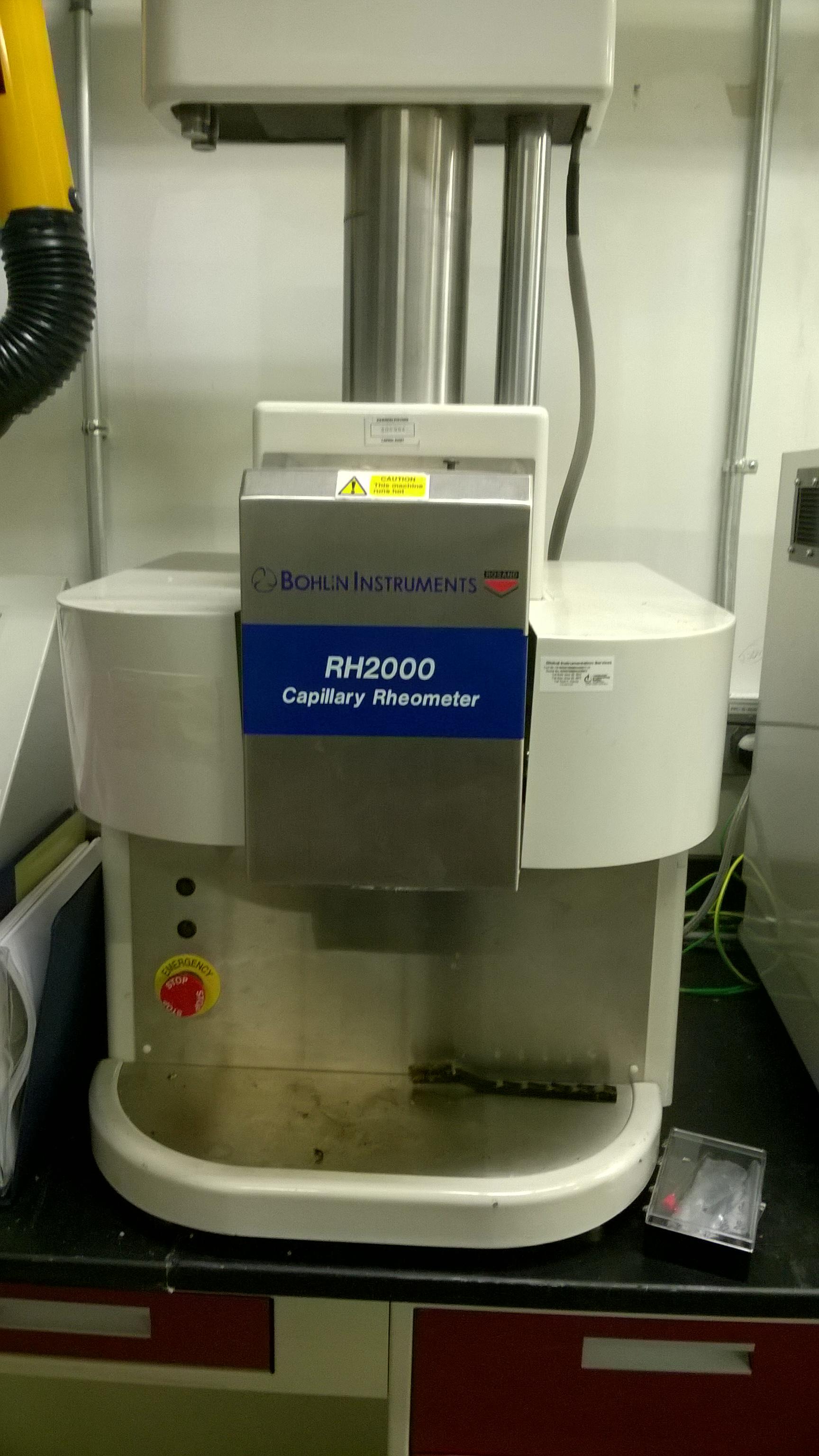 Bohlin RH2000 Capillary Rheometer