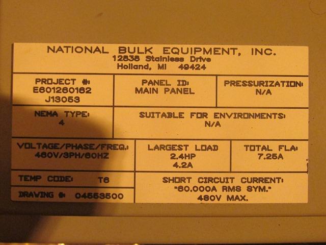 NBE Super Sack Unloader System
