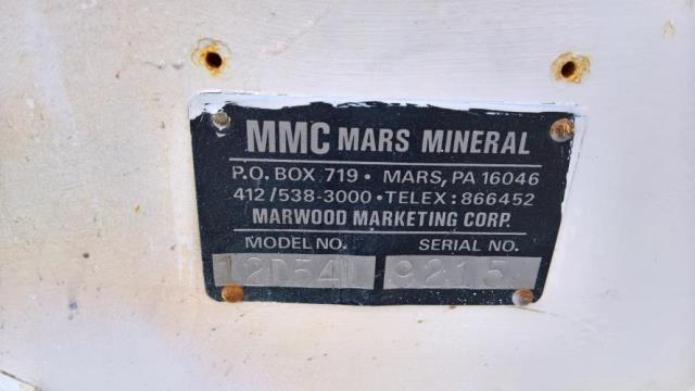 Mars Mineral Pin Mixer Model 12D54L