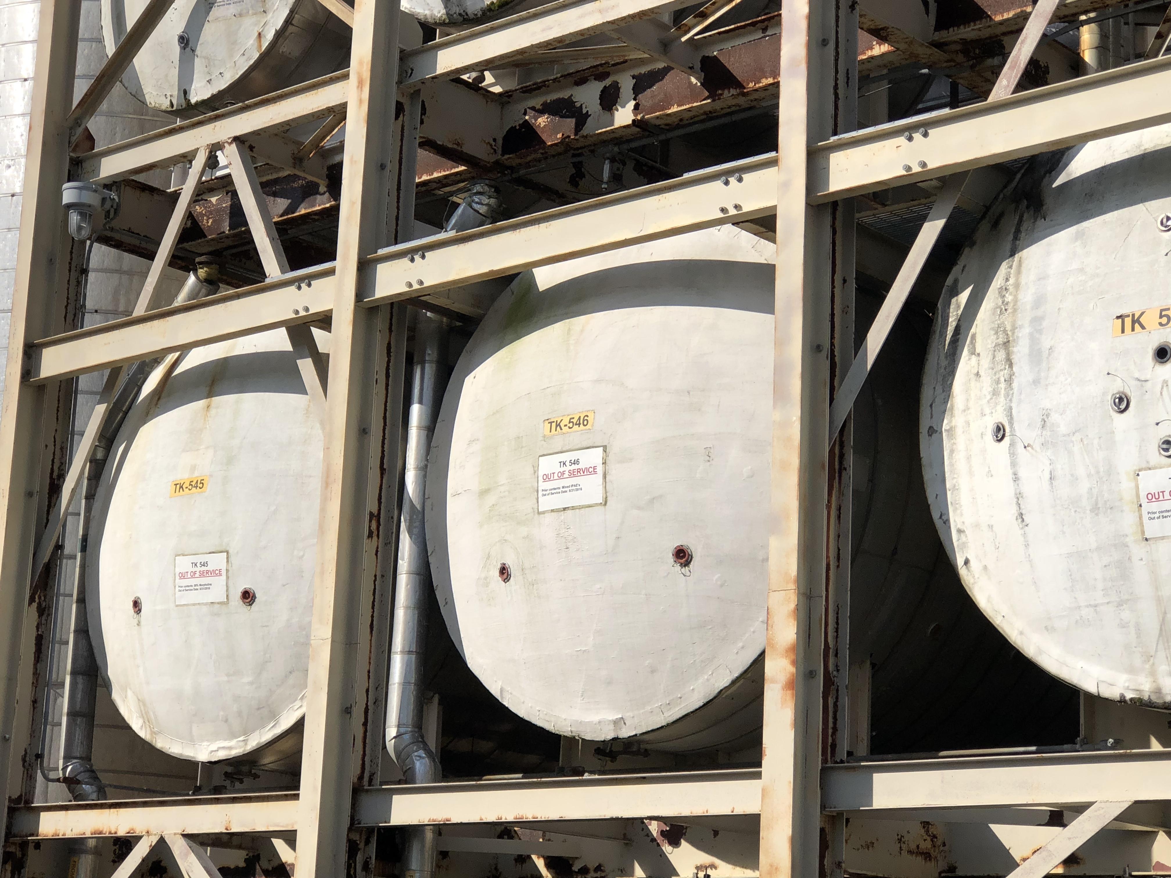 7000 Gal Horizontal Storage Tank, S/S